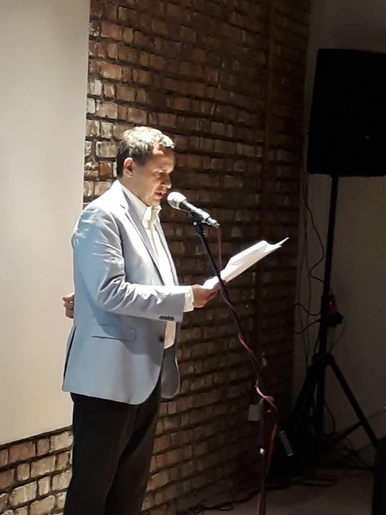 مهندس عالم زاده - مراسم افتتاح خانه کانون